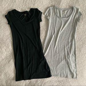 TWO T-Shirt Dresses